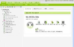 日本語化済み管理画面