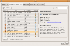 netbeans_for_ruby01_select_plugins